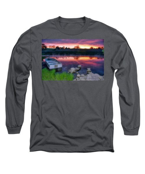 Pond Dreams 9 Long Sleeve T-Shirt