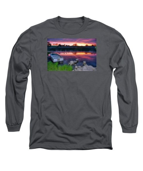 Pond Dreams 9 Long Sleeve T-Shirt