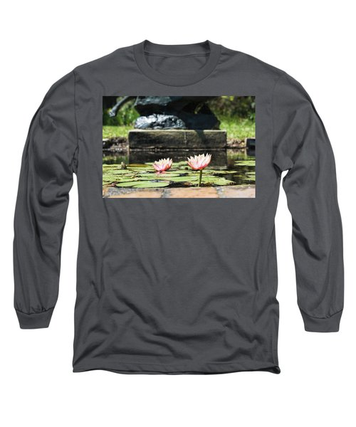 Pond Palette Long Sleeve T-Shirt by Ed Waldrop