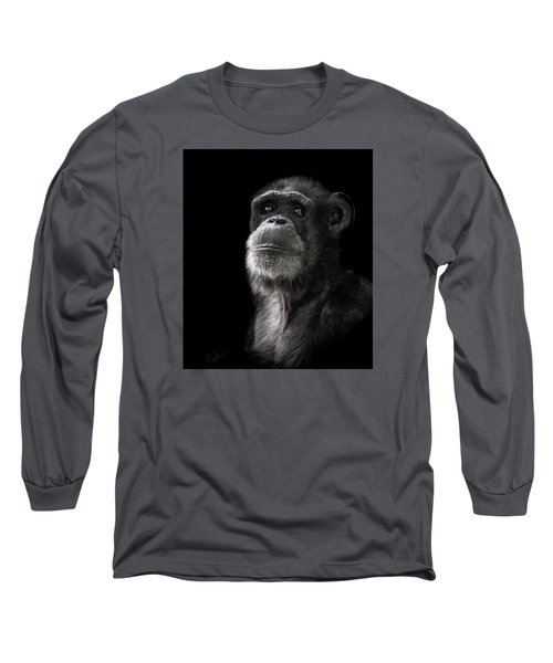 Ponder Long Sleeve T-Shirt by Paul Neville