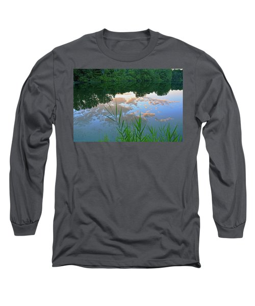 Pondering Long Sleeve T-Shirt by Angelo Marcialis