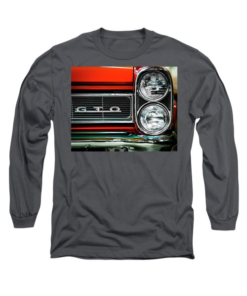 Pontiac Gto Long Sleeve T-Shirt