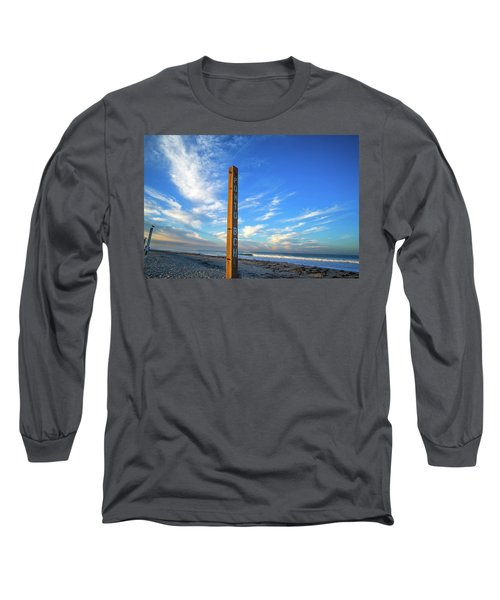 Ponto Beach Long Sleeve T-Shirt by Joseph S Giacalone