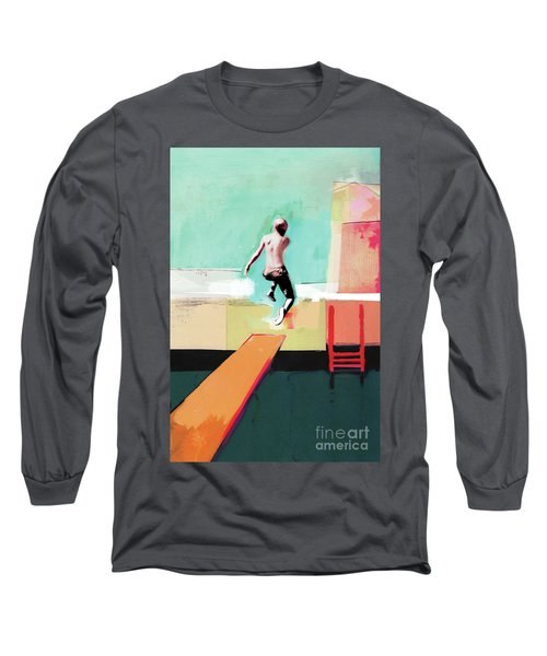 Pool Day Long Sleeve T-Shirt