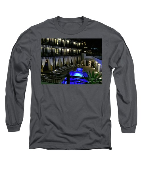 Poolside At The Pearl Long Sleeve T-Shirt