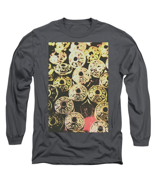Pop Art Space Invaders Long Sleeve T-Shirt