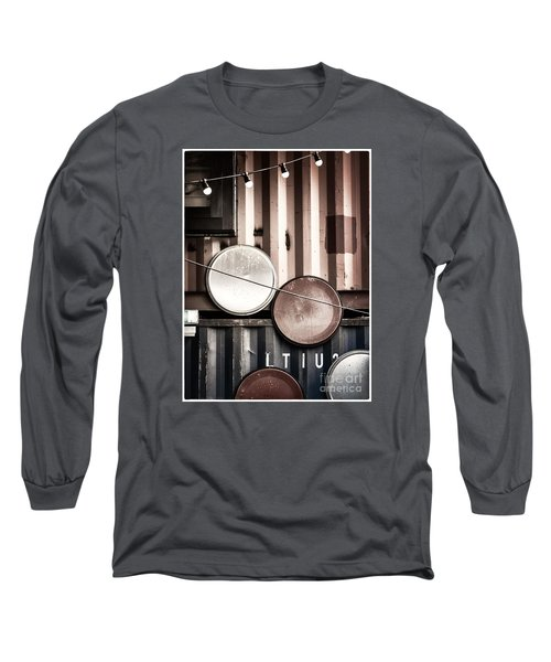 Long Sleeve T-Shirt featuring the photograph Pop Brixton - Industrial Style by Lenny Carter