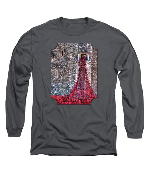 Poppy Cascade Long Sleeve T-Shirt