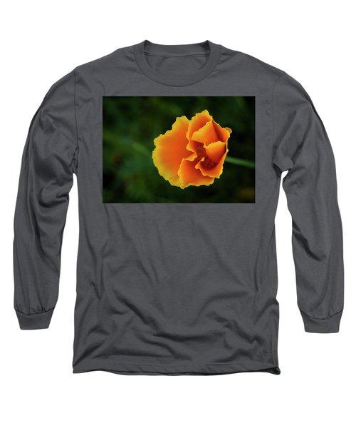 Poppy Orange Long Sleeve T-Shirt