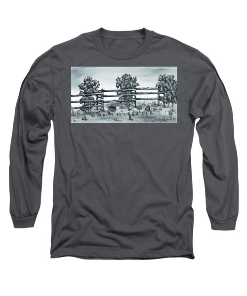 Popular Street Long Sleeve T-Shirt by Kenneth Clarke