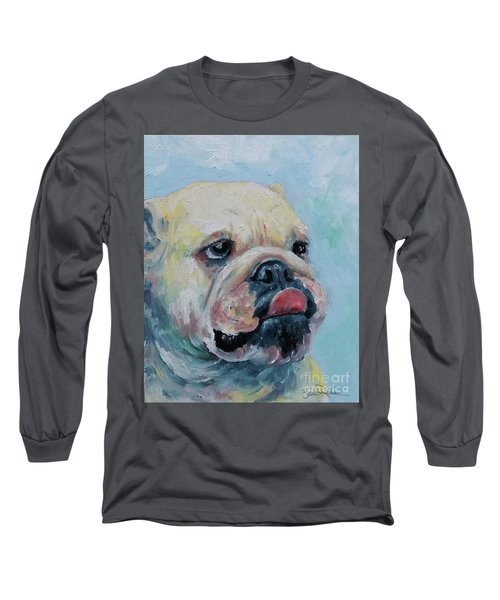 Pork Chop Long Sleeve T-Shirt by William Reed