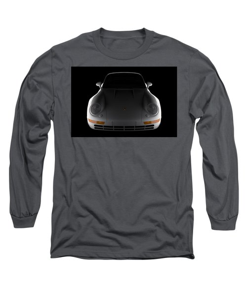 Porsche 959 - Front View Long Sleeve T-Shirt
