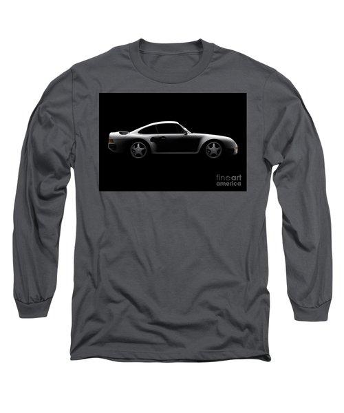 Porsche 959 - Side View Long Sleeve T-Shirt