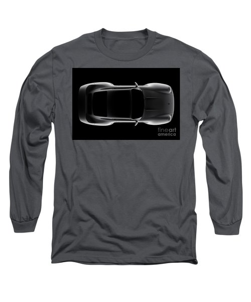 Porsche 959 - Top View Long Sleeve T-Shirt