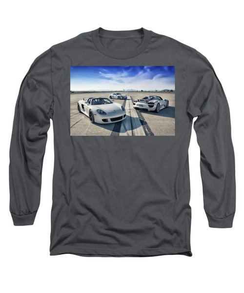 #porsche #carreragt,  #918spyder,  #cayman #gt4 Long Sleeve T-Shirt