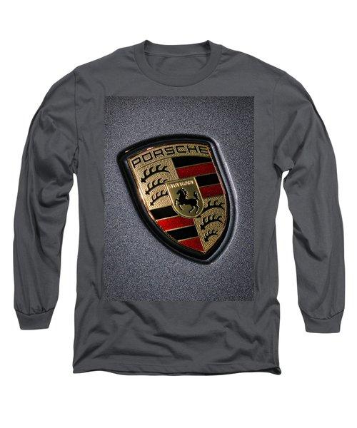 Porsche Long Sleeve T-Shirt by Gordon Dean II