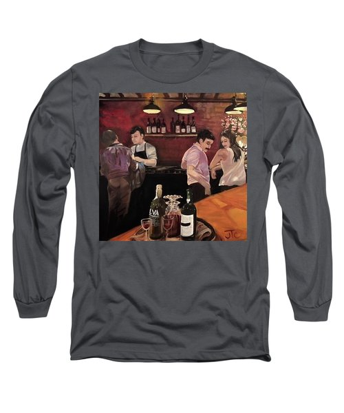 Port Bar Long Sleeve T-Shirt by Julie Todd-Cundiff