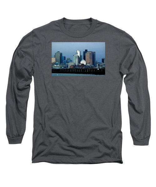 Port Of Boston Long Sleeve T-Shirt