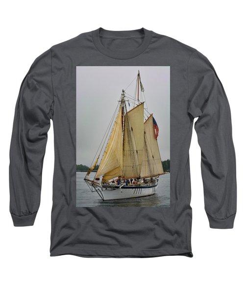 Port Side Long Sleeve T-Shirt
