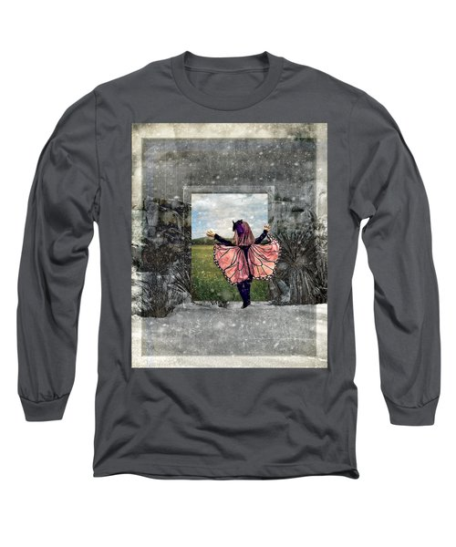 Portal Into Spring Long Sleeve T-Shirt