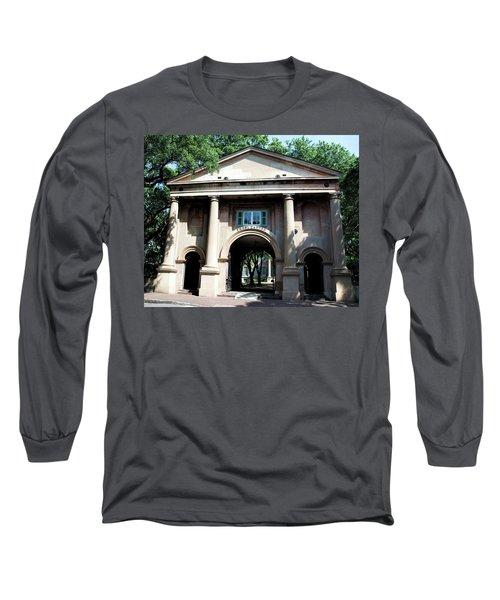 Porter's Lodge Long Sleeve T-Shirt by Ed Waldrop