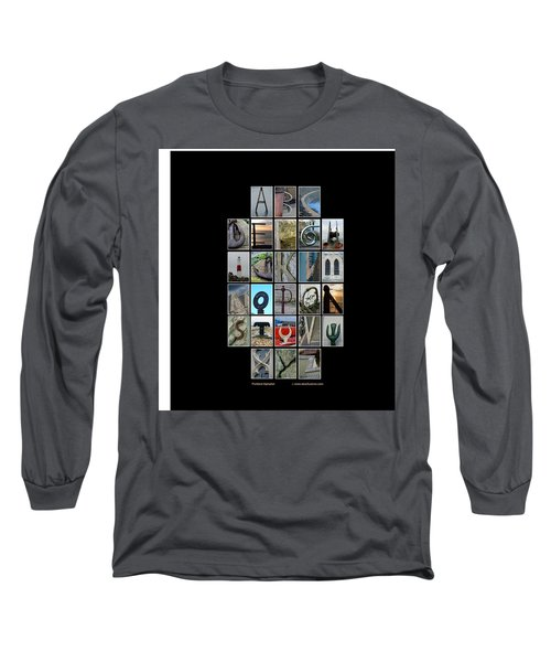 Portland Alphabet Long Sleeve T-Shirt