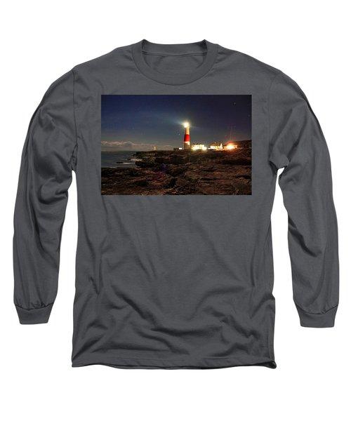 Portland Bill Lighthouse Long Sleeve T-Shirt