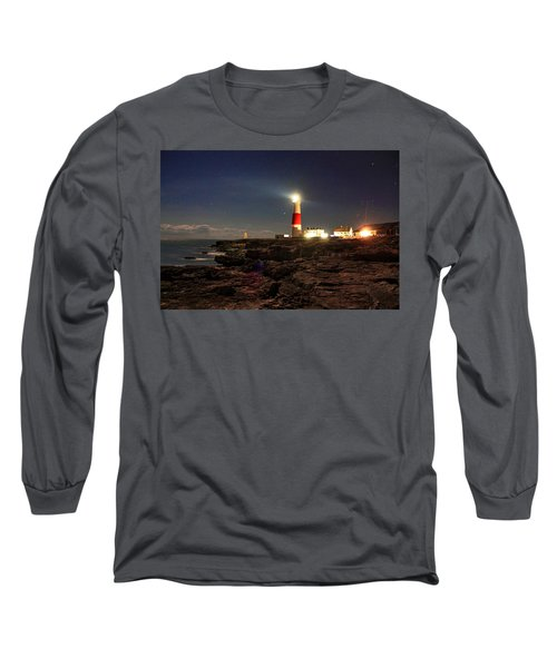 Portland Bill Lighthouse Long Sleeve T-Shirt