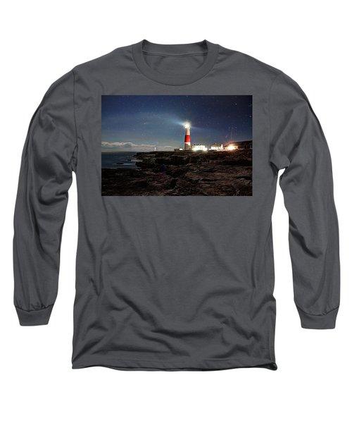 Portland Bill Lighthouse Uk Long Sleeve T-Shirt