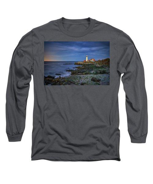Portland Head Aglow Long Sleeve T-Shirt