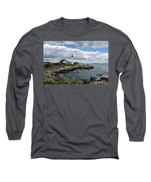Portland Head Light, Starboard Long Sleeve T-Shirt
