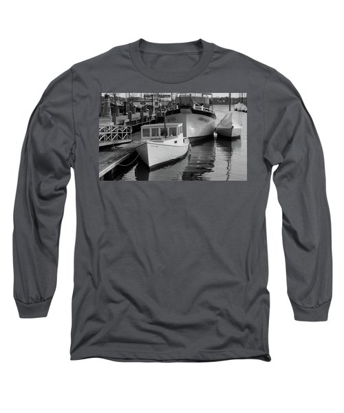 Portland, Maine  Long Sleeve T-Shirt by Trace Kittrell