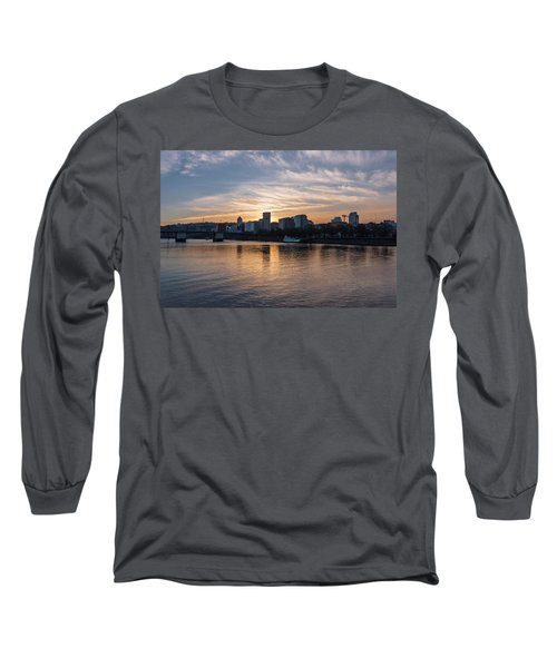 Portland Sunset Long Sleeve T-Shirt