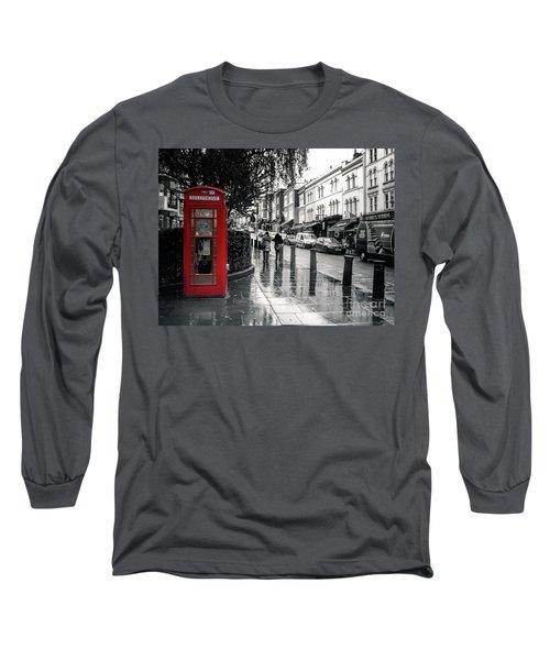 Portobello Road London Long Sleeve T-Shirt