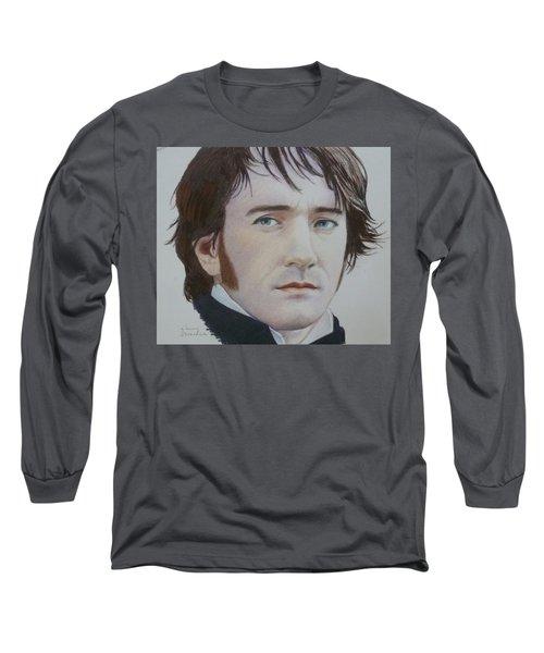 Portrait Of A Gentleman Long Sleeve T-Shirt by Constance DRESCHER