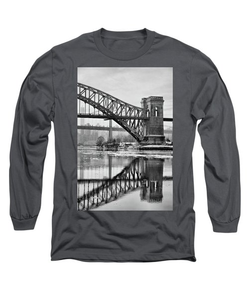 Portrait Of The Hellgate Long Sleeve T-Shirt
