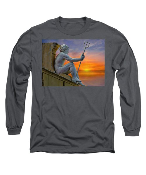 Poseidon - God Of The Sea Long Sleeve T-Shirt