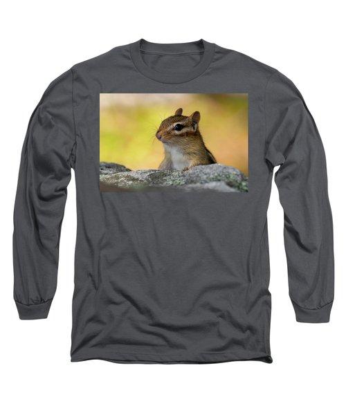 Posing Chipmunk Long Sleeve T-Shirt