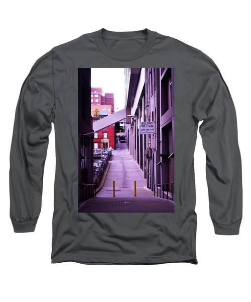 Post Alley, Seattle Long Sleeve T-Shirt