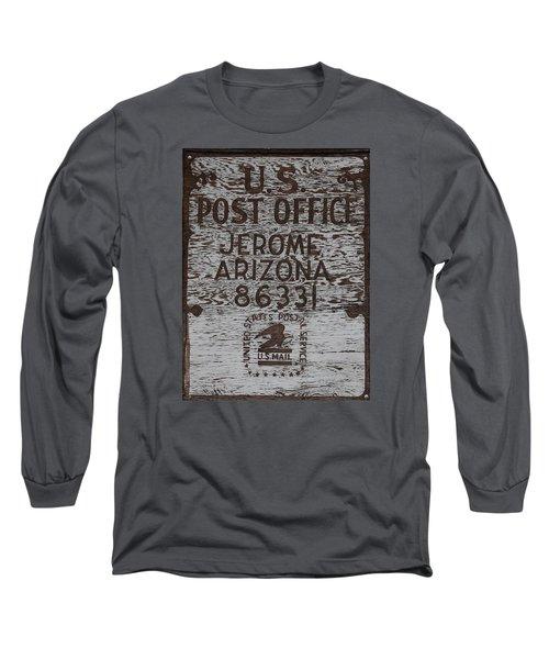 Post Office Jerome - Arizona Long Sleeve T-Shirt