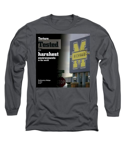 Poster Of The Big House Long Sleeve T-Shirt