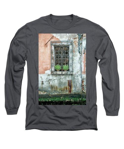 Pot Plant Window Long Sleeve T-Shirt