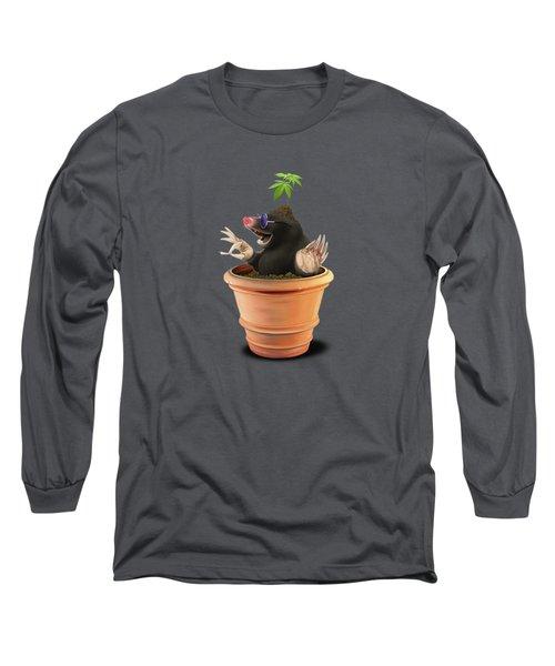 Pot Wordless Long Sleeve T-Shirt