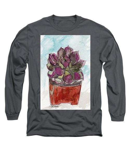 Potted Cactus Long Sleeve T-Shirt