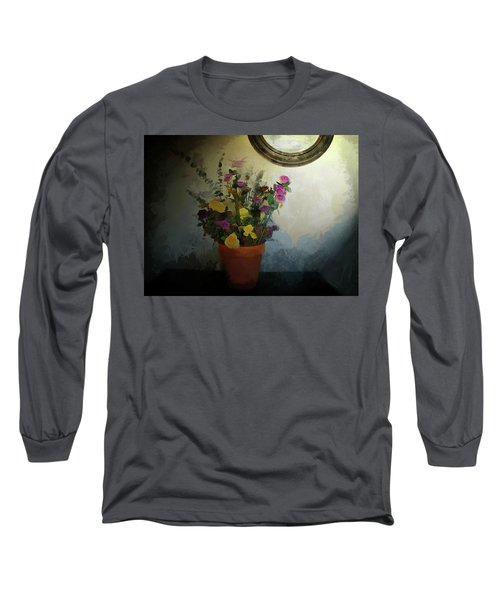 Potted Flowers 2 Long Sleeve T-Shirt