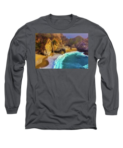 Pouring Into The Sea Long Sleeve T-Shirt
