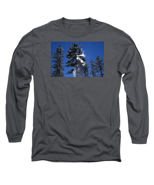 Powderfall Long Sleeve T-Shirt by Gary Kaylor