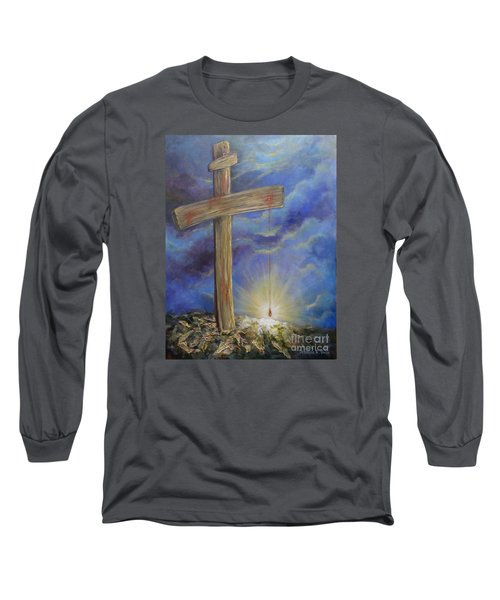 Power In The Blood Long Sleeve T-Shirt