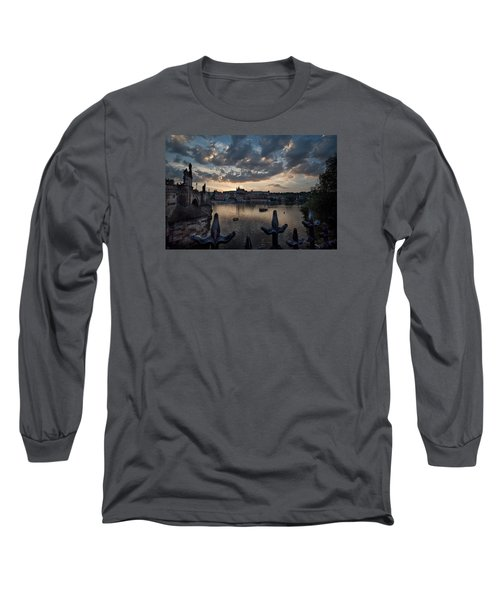 Prague Castle Long Sleeve T-Shirt