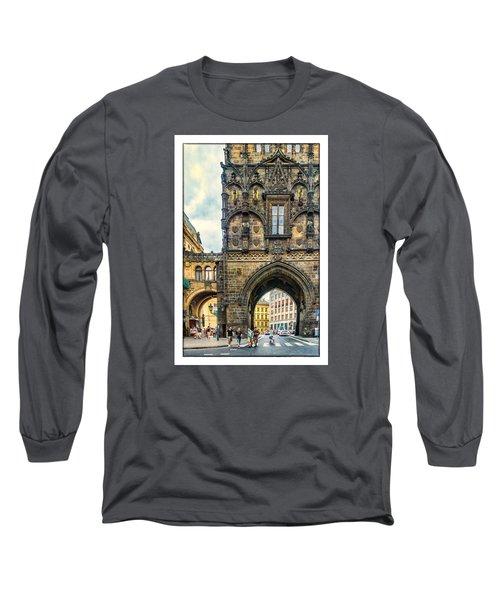 Prague Powder Tower  Long Sleeve T-Shirt